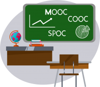 conception et réalisation de MOOC, COOC, SPOC, conception du scénario pédagogique et ressources